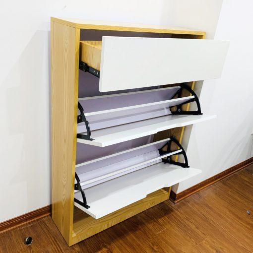 Tủ giày thông minh 3 tầng có hộc 4