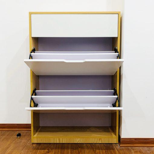 Tủ giày thông minh 3 tầng có hộc 3