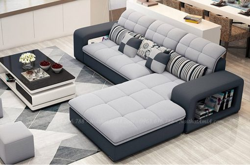 Sofa nỉ nhung 1
