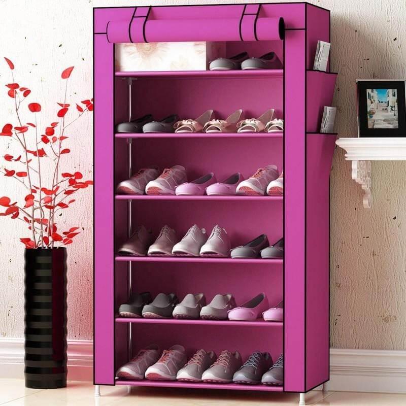 Tủ giày thông minh bằng vải