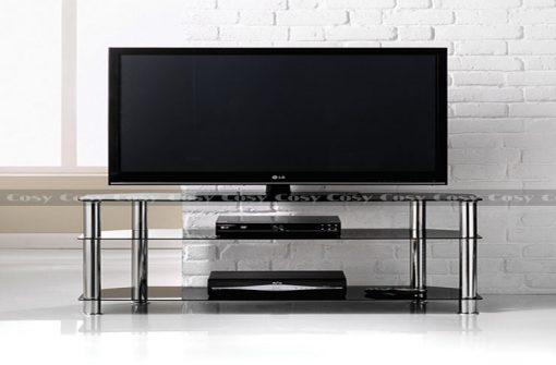 Mẫu kệ tivi bằng inox giá rẻ tại Chuẩn Decor
