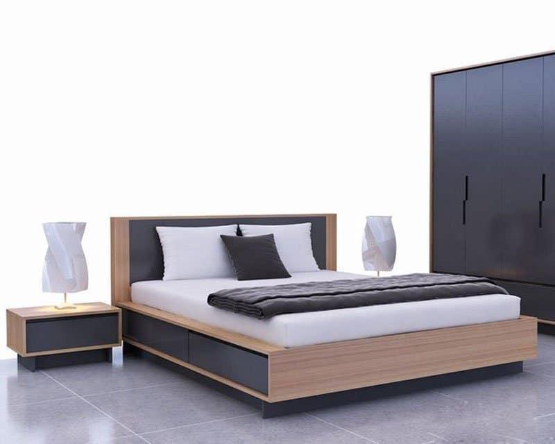 Mẫu giường ngủ THS67 đẹp tại Nội Thất Tứ Gia
