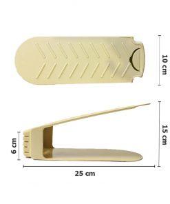 Kích thước kệ giày thông minh tiết kiệm diện tích THS 128