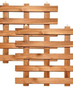 Khung gỗ trang trí ban công