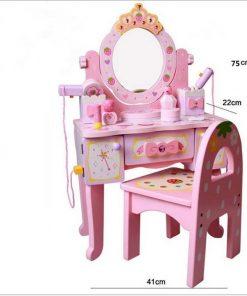 Mẫu bàn trang điểm công chúa cho bé