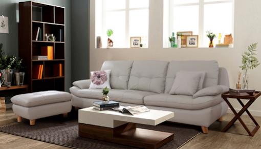 Mẫu ghế sofa văng dài thanh lịch