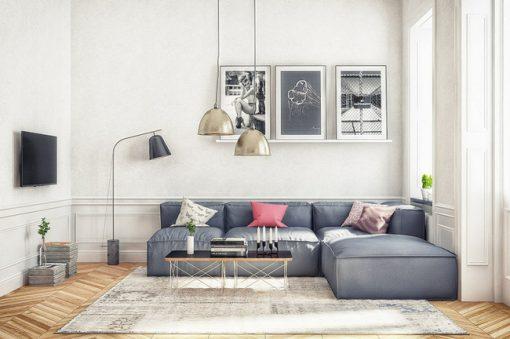 Mở rộng không gian với mẫu sofa đẹp cho phòng khách nhỏ