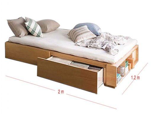 Ngăn kéo thông minh củ giường ngủ