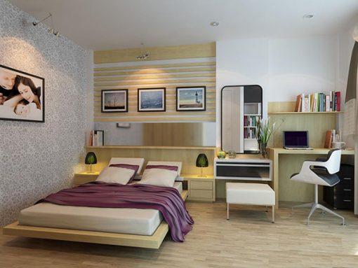 Bàn trang điểm hiện đại cho căn phòng ngủ