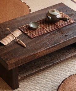 Bàn trà Nhật ngồi bệt THS 141