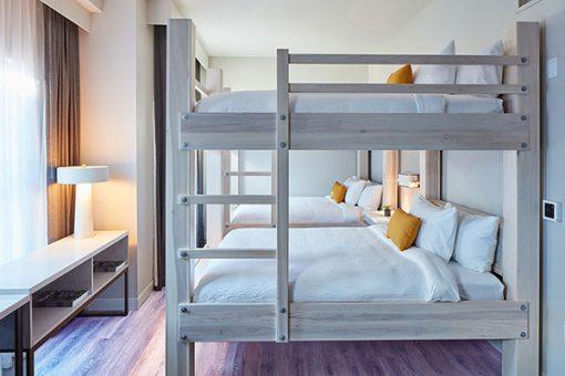 Giường ngủ 2 tầng cho người lớn hiện đại
