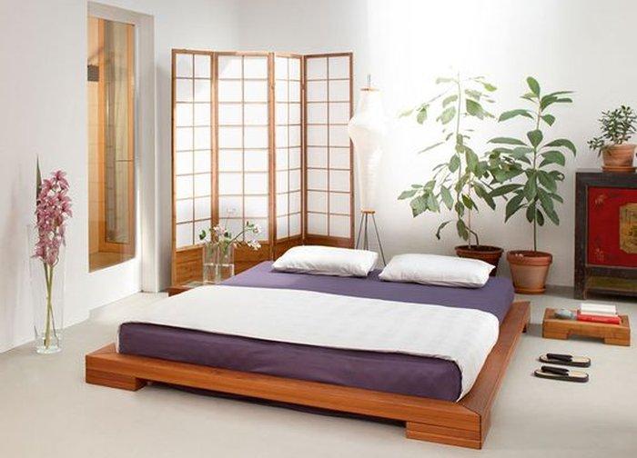 Bộ giường thích hợp cho những người thích nội thất tối giản