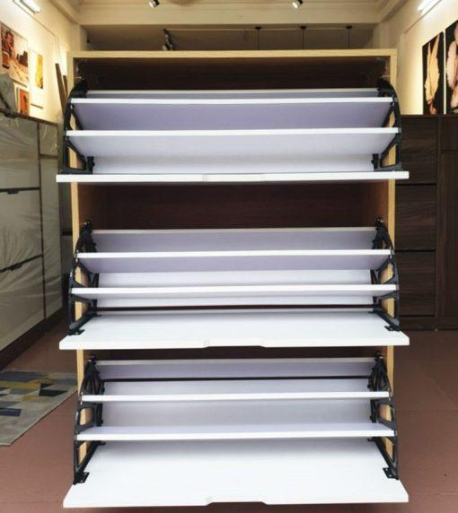 Chi tiết các ngăn tủ giày thông minh THS 125