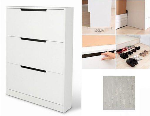 """Cách làm tủ giày thông minh siêu mỏng """"tàng hình"""""""