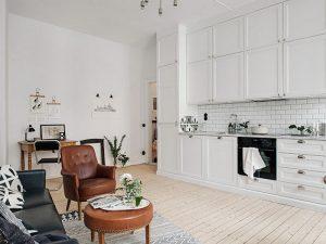 Thiết kế nội thất chung cư nhỏ 45m2