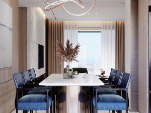 Thiết kế nội thất chung cư 54m2