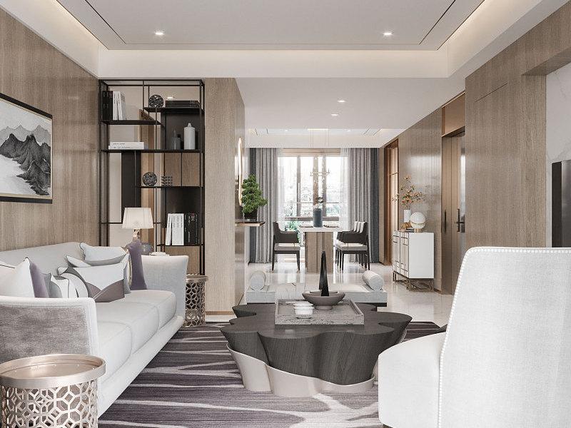 Mẫu thiết kế nội thất chung cư 3 phòng ngủ sang trọng