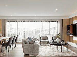 Thiết kế nội thất chung cư 85m2