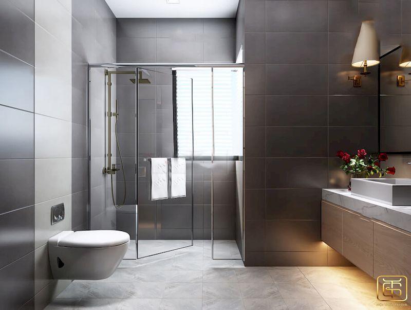 Nội thất phòng tắm biệt thự mini