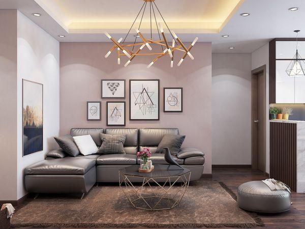 Thiết kế nội thất nhà ở 60m2