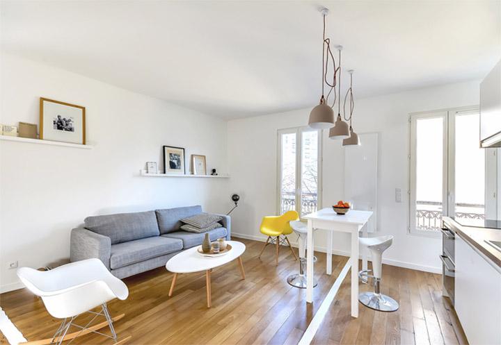 Thiết kế nội thất nhà ở 30m2