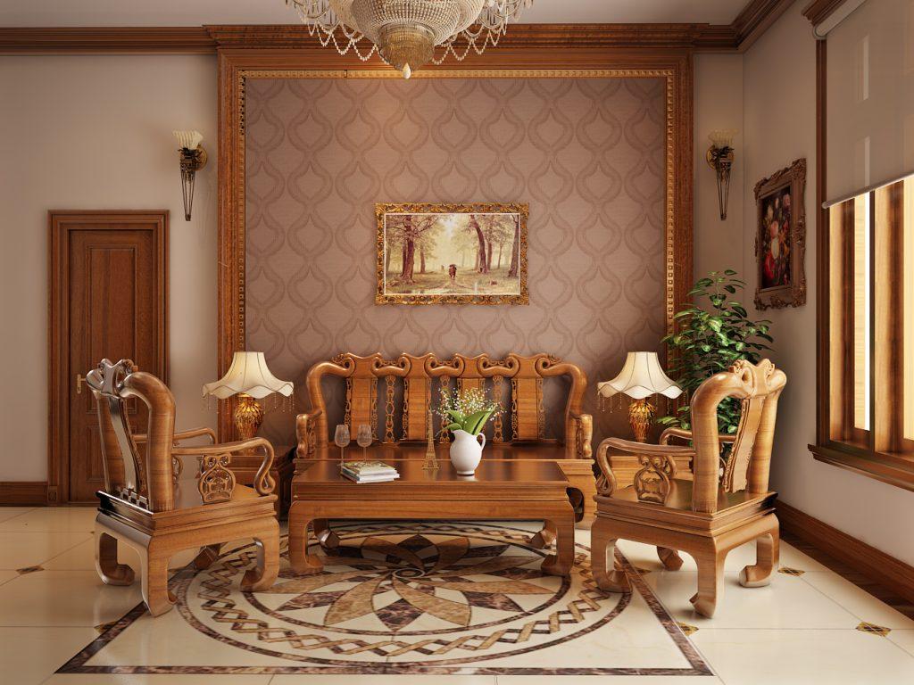 thiết kế nội thất nhà bằng gỗ