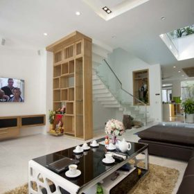 Thiết kế nội thất nhà ống mặt tiền 6m2