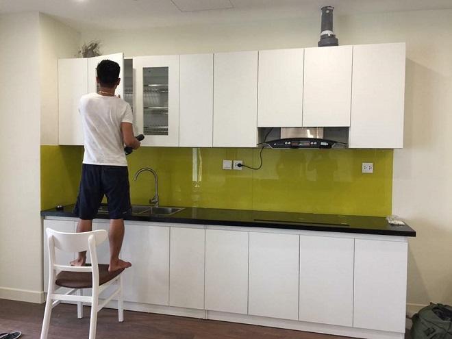 thi công nội thất bếp