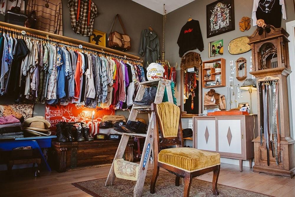 Thiết kế nội thất cửa hàng theo phong cách vintage