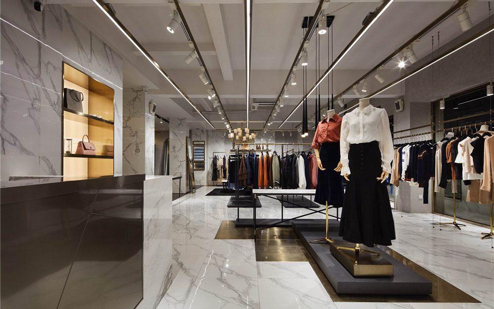 Thiết kế nội thất shop theo phong cách hiện đại