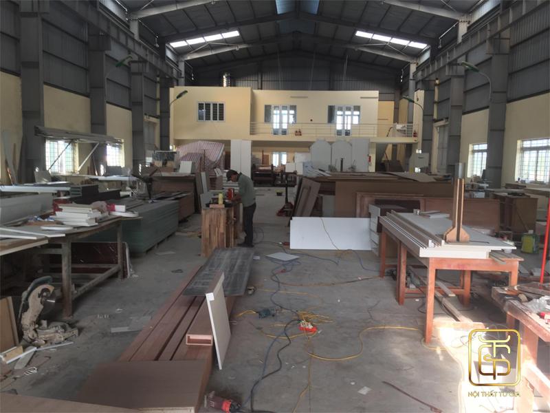 xưởng sản xuất đồ thi công nội thất