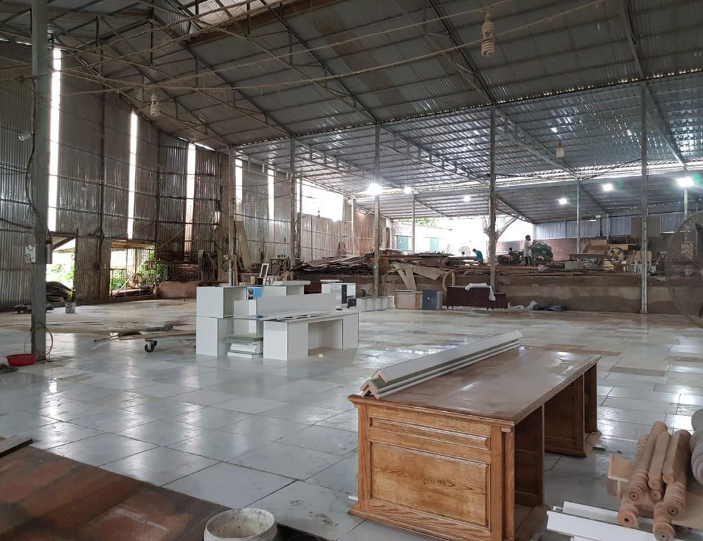 Xưởng sản xuất của tứ gia