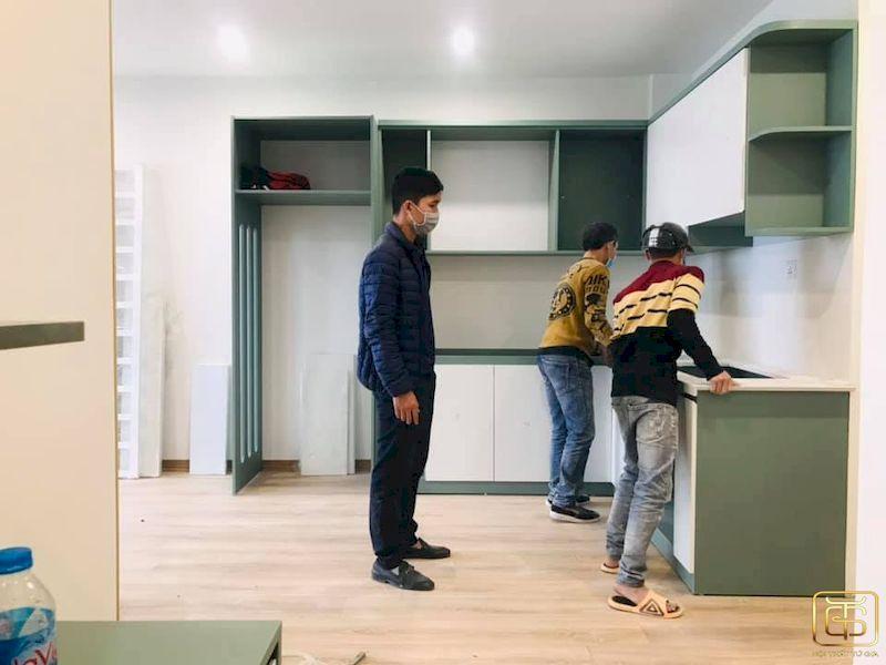 Kinh nghiệm chọn đơn vị thi công nội thất chung cư