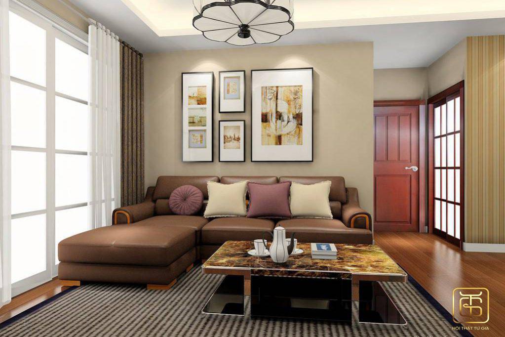 bí quyết trang trí phòng khách đẹp