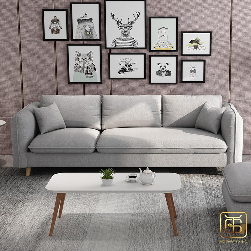 ghế sofa trong thi công nội thất phòng khách