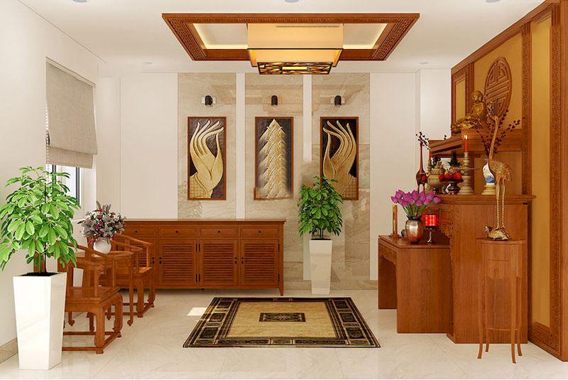Nội thất nhà phố phong cách tối giản - View 6