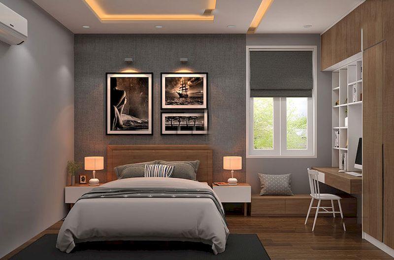 Nội thất nhà phố phong cách tối giản - View 5