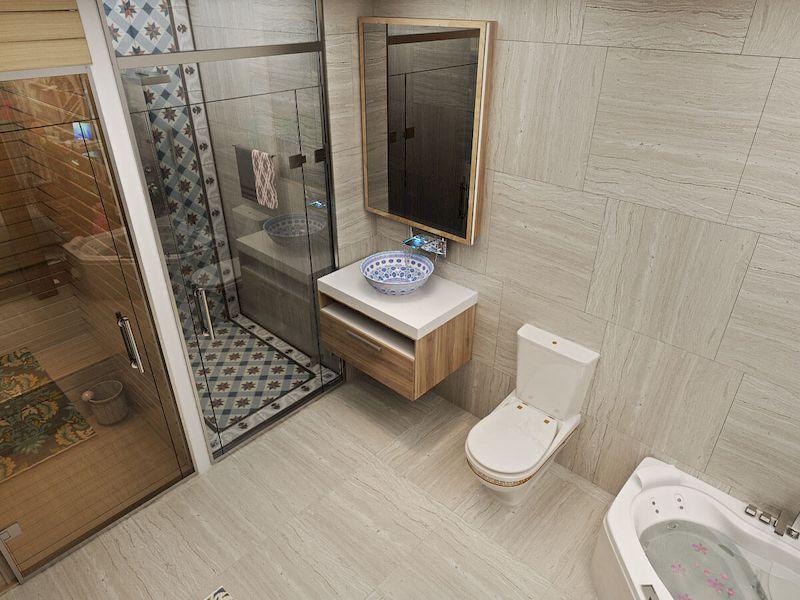 Phòng wc nhà phố