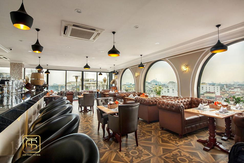 Chọn đơn vị thiết kế nội thất quán cafe uy tín tại Hà Nội