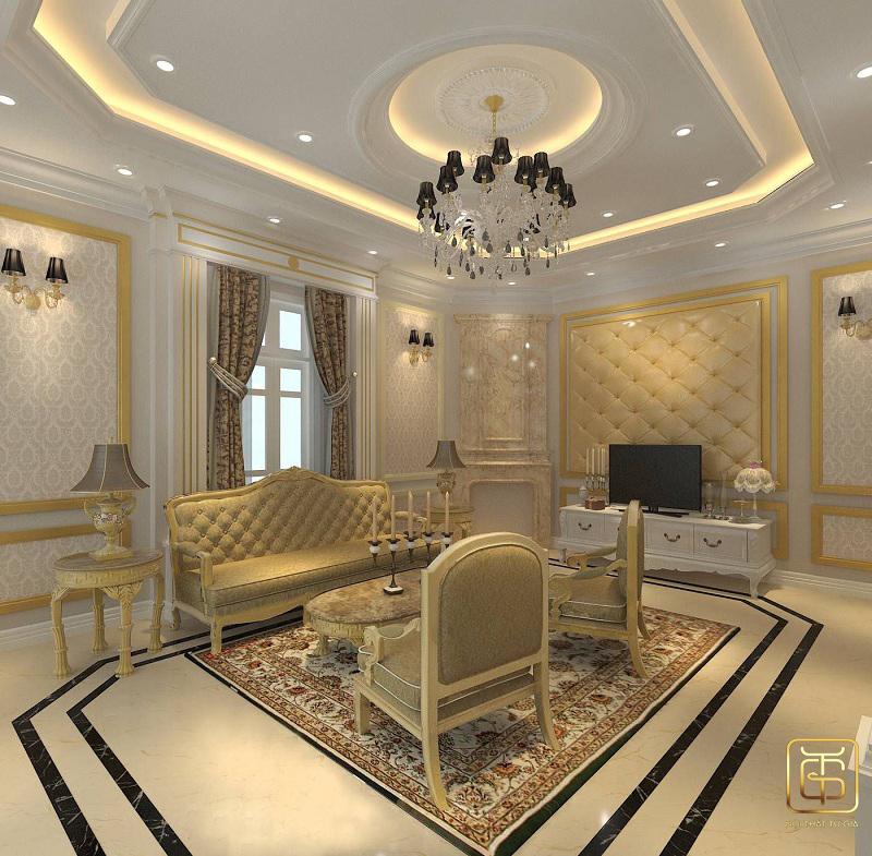 phong cách thiết kế nội thất biệt thự