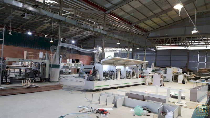 Nhà máy sản xuất nội thất biệt thự hiện đại siêu sang