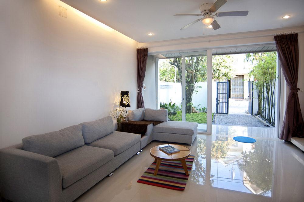 Thiết kế nội thất theo phong cách cao cấp cho nhà 4 tầng