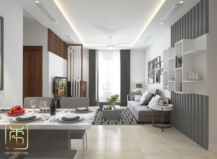 Đơn vị thiết kế nội thất chung cư tại hà nội