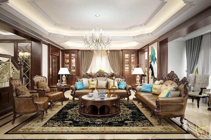 Nội thất căn hộ chung cư phong cách Luxury - View 1