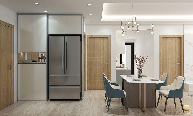 Nội thất căn hộ chung cư hiện đại - View 2