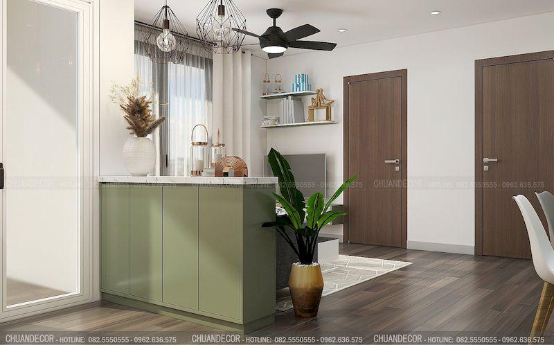Thiết kế căn hộ nhỏ đơn giản - View 3