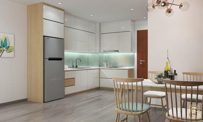 Thiết kế nội thất chung cư phong cách Hàn Quốc - View 3