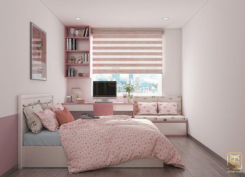 Thiết kế nội thất chung cư phong cách Hàn Quốc - View 5