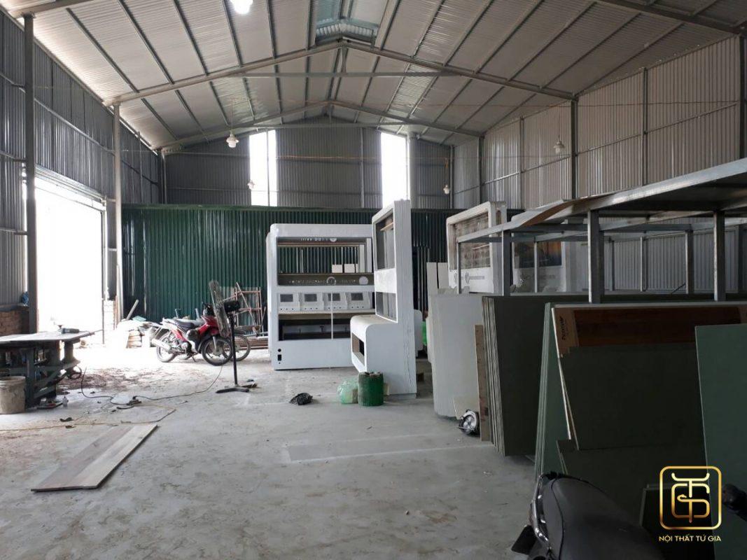 xưởng sản xuất đồ nội thất của tứ gia ở hà nội