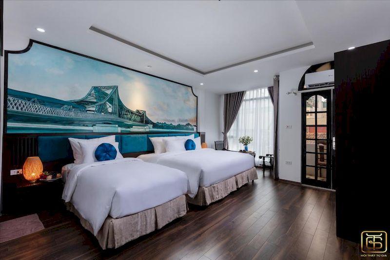 Nội thất khách sạn xanh
